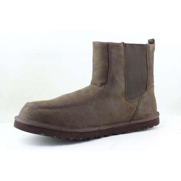553865824ea Shop UGG Mens Bloke Brown Snow Boots Size 18 - On Sale - Free ...