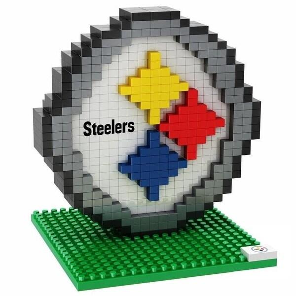 Pittsburgh Steelers 3D NFL BRXLZ Bricks Puzzle Team Logo