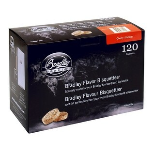 Bradley Smoker Btch120 Cherry Flavoured Bisquettes Pack Of 120
