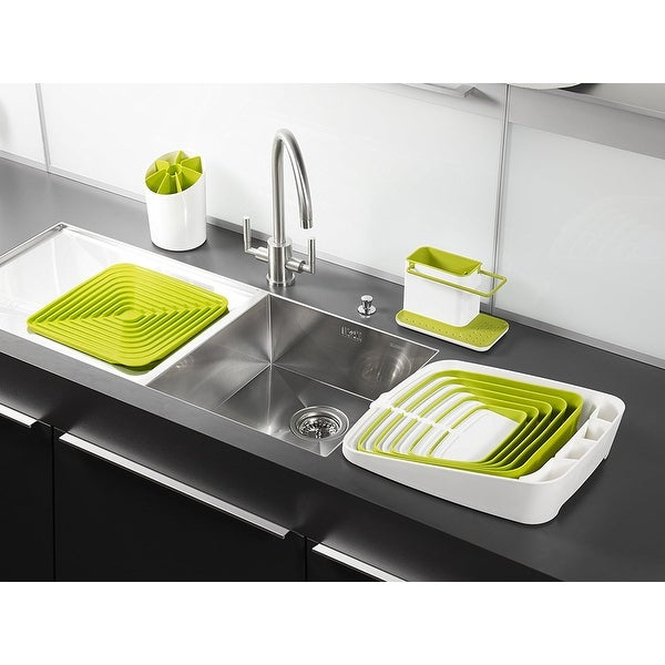 US Seller New Sink Base Plus 3 Piece Sink Tidy Set Green  Kitchen Sink Area