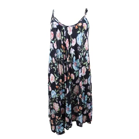 Kenneth Cole Women's V-Neck Dress Cover-Up - Black