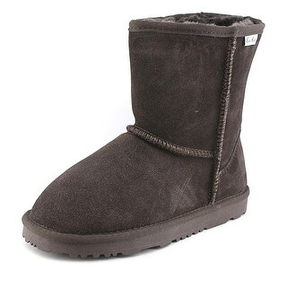 Aussie Merino Bridget Low Kids Round Toe Suede Winter Boot
