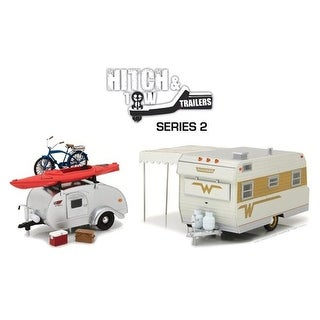 1-24 Hitch & Series 2 Tow Trailer Toys - 6 Piece Assortment, 1