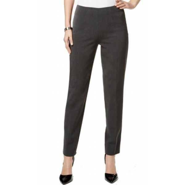 cc80d297438bd Shop Tommy Hilfiger NEW Gray Women Size 10 Slim Leg Ankle Length Dress Pants  - Free Shipping On Orders Over $45 - Overstock - 18365873