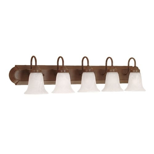 Bon Millennium Lighting 485 5 Light Bathroom Vanity Light   Free Shipping Today    Overstock.com   19715855