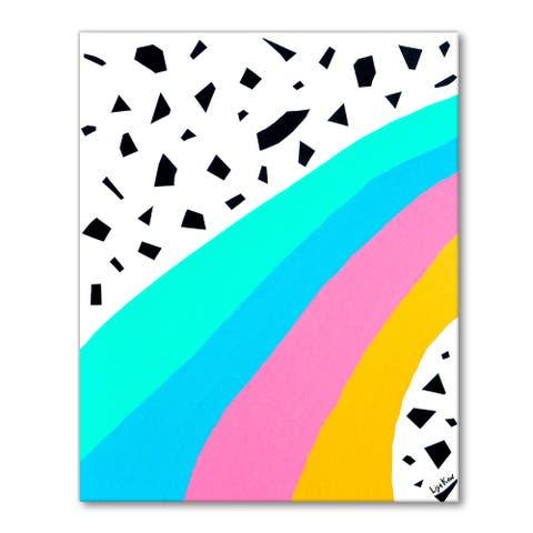 Porch & Den Lisa Kaw 'Somewhere Over the Rainbow' Canvas Kid's Art