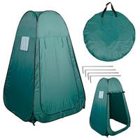 Costway Portable Pop UP Fishing & Bathing Toilet Changing Tent Camping Room Green