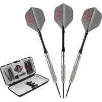 Viper V-Factor 90% Tungsten Steel Tip Darts with Storage/Travel Case / 23-1702-22
