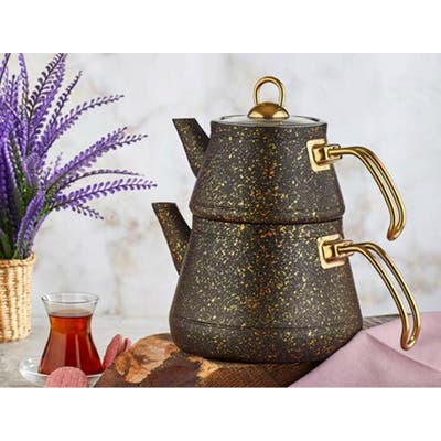 Stainless Steel Teapot Modern Teapot Silver Teapot