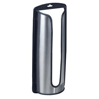 Kitchen Details Stainless Steel Shopping Bag Saver Holder, 6.5x2.95x15.9 Inches