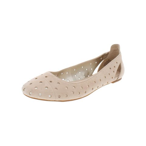 Nine West Womens Marie Ballet Flats Casual Perforated