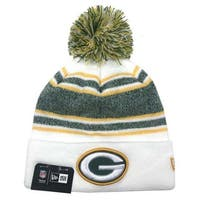 New Era Green Bay Packers NFL Stocking Knit Hat Winter Beanie Sideline 11439628