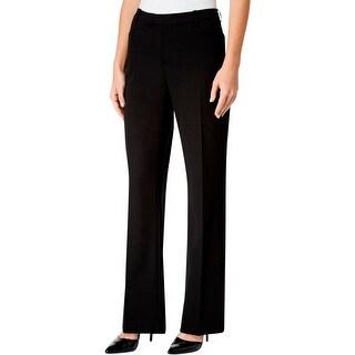 Tommy Hilfiger Womens Dress Pants Flare Classic Rise