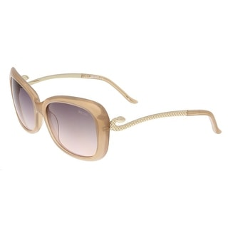 Just Cavalli JC635S 47B Clear Beige Butterfly Sunglasses