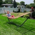 Sunnydaze Caribbean XL Rope Hammock with Spreader Bars - Multiple Colors Availab - Thumbnail 10