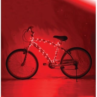 Cosmic Brightz LED Bicycle Light Accessory: Red - multi