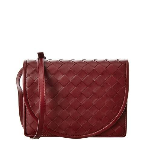 Bottega Veneta Intrecciato Leather Crossbody