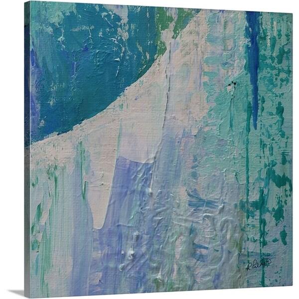 """""""Blue Moon II"""" Canvas Wall Art"""