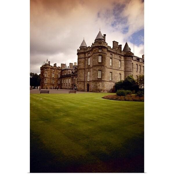 """Palace of Holyroodhouse, Edinburgh, Scotland"" Poster Print"