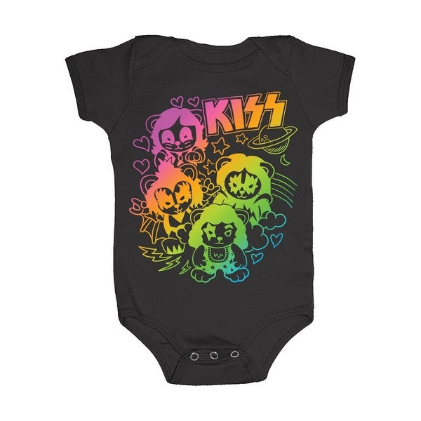Kiss Infant Snapsuit - One-Piece Baby Outfit