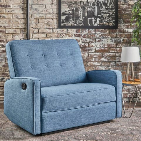 Calliope Fabric Oversized Recliner Chair by Christopher Knight Home