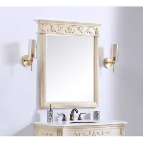 Traditional Beleved Bathroom/Vanity Mirror