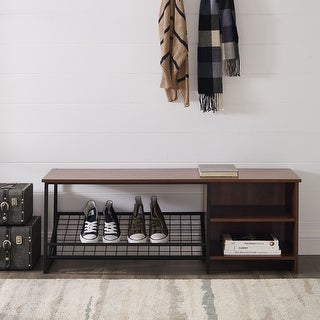 Link to Carbon Loft 48-inch Entry Bench with Shoe Storage Similar Items in Living Room Furniture