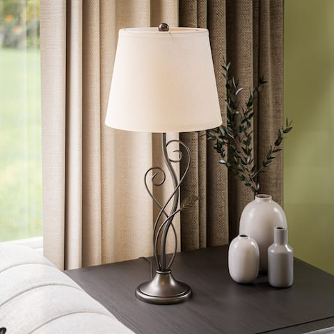 Copper Grove Corbeil Bronze 3-way 26-inch Table Lamp