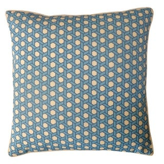 Jiti Blue Lanyard Sunbrella Outdoor Pillow - 20 x 20 - 20 x 20