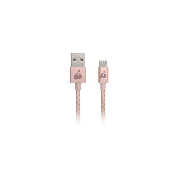 Iogear Charge & Sync Flip Pro+ - Reversible Usb To Lightning Cable, 3.3 Feet, Rose Gold, Gaul01-Rg