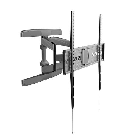 "Fleximounts A21 extra wide Full motion Swivel Tilt and Rotate TV Wall Mount Bracket for Most 47""-84"" Flat Screens"