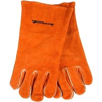 Forney 53432 Split Leather Men's Welding Gloves, X-Large
