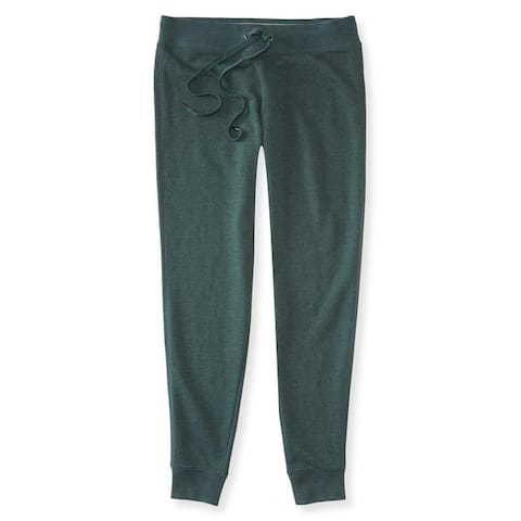 Aeropostale Womens Solid Athletic Jogger Pants