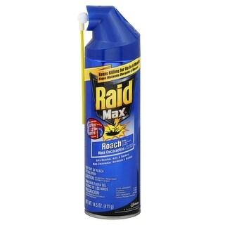 Raid Max 70261 Ant & Roach Killer, 14.5 Oz.