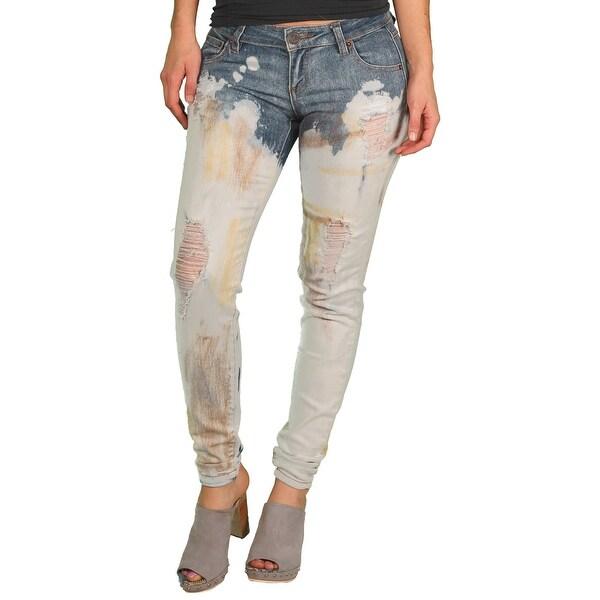 Spoon Jeans Junior Bleached Destructed Jean