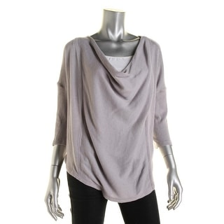 We The Free Womens Dolman Sleeves Asymmetric Pullover Top