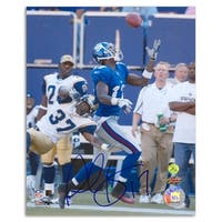 Autographed Plaxico Burress New York Giants 8x10 Photo
