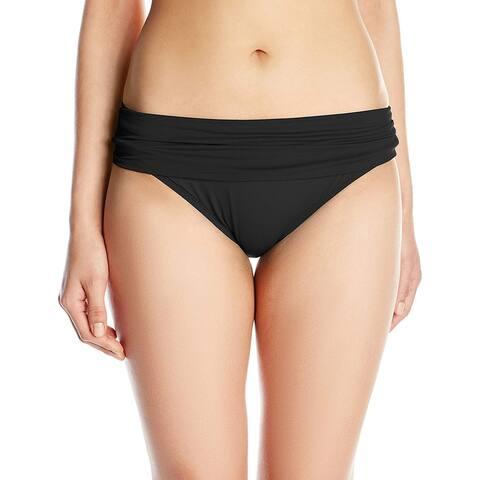 La Blanca Women's Island Goddess Shirred Band Hipster Bikini Swimsuit Bottom,... - 8