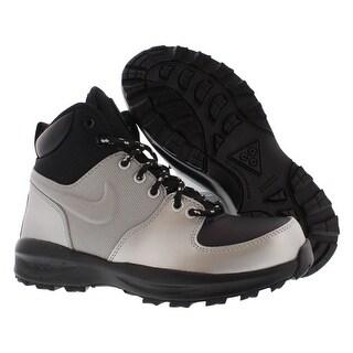 Nike Manoa Lth Boots Gradeschool Boy's Shoes Size - 4 big kid m