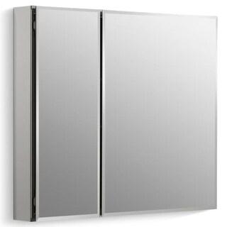 """Kohler K-CB-CLC3026FS 30"""" x 26"""" Double Door Reversible Hinge Frameless Mirrored Medicine Cabinet"""