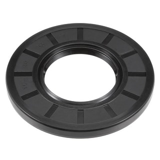Oil Seal, TC 40mm x 80mm x 7mm, Nitrile Rubber Cover Double Lip - 40mmx80mmx7mm