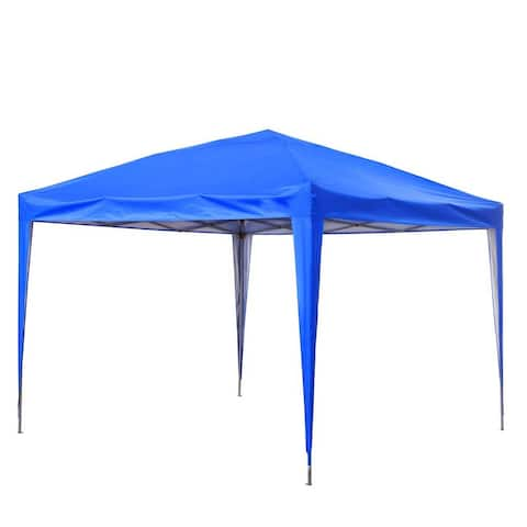 Ainfox 10 x 10 ft Pop-Up Party Canopy Tent Gazebo