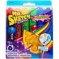 Mr. Sketch 1924009 Scented Washable Markers, Assorted Colors