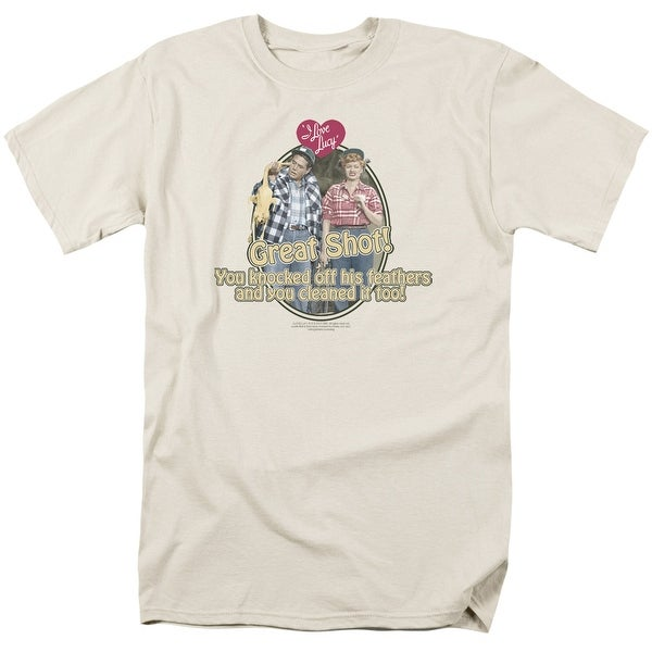 22fb2c74 Shop I Love Lucy Great Shot Mens Short Sleeve Shirt - On Sale - Free  Shipping On Orders Over $45 - Overstock - 27132957