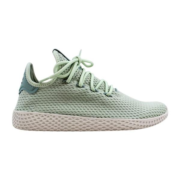 543e1b451 Adidas Pharrell Williams Tennis Hu J Linen Green White Grade-School CP9806  Size 7