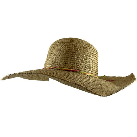 Peter Grimm's Mazatlan Ladies Resort Sun Hat, Natural