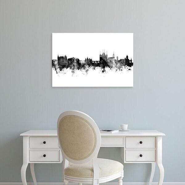 Easy Art Prints Michael Tompsett's 'Thun Switzerland Skyline' Premium Canvas Art