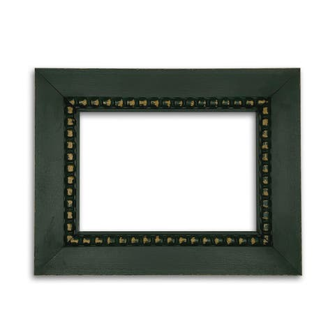 Whimsical Accents Forest Green Beaded Frame
