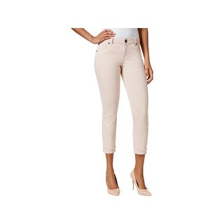 Kut From The Kloth Womens Amy Skinny Jeans Straight Leg Cropped