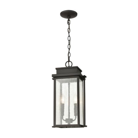 Braddock 2-Light Outdoor Pendant